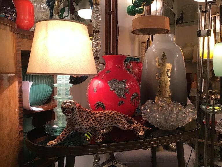 "Ronzan ""Giaguaro"" Ceramic Sculpture, 1950, Italy For Sale 3"