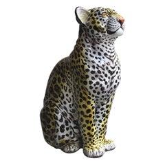 """Ronzan """"Stile"""" Jaguar Ceramic, 1950, Italy"""
