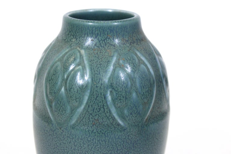 Early 20th Century Rookwood Art Deco Pottery Ceramic Vase For Sale