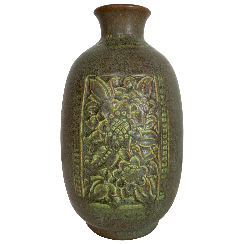 Rookwood Pottery Vase Matte Glaze by Clara Lindeman