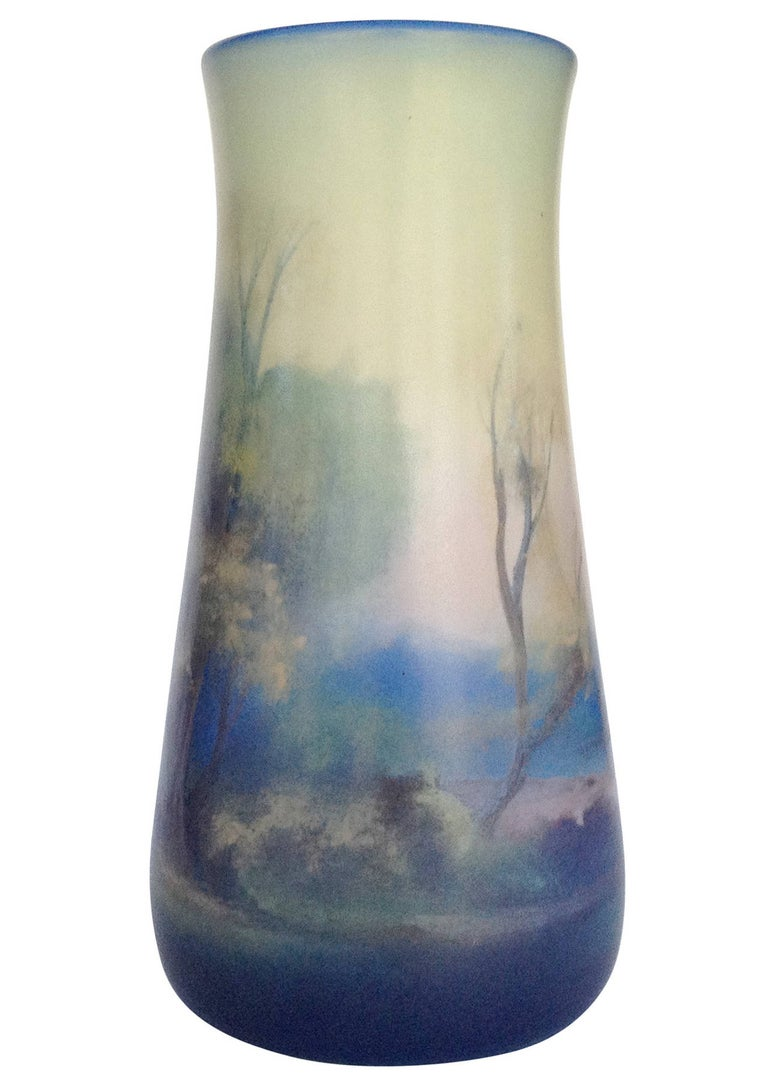 This piece is an American Rookwood Pottery