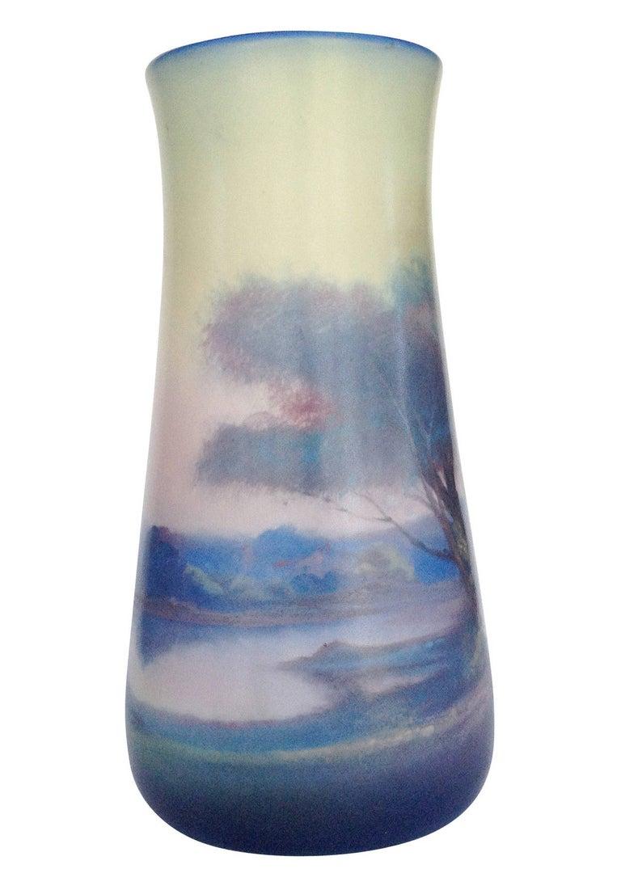 American Rookwood Pottery Vellum Glaze Vase, circa 1925 For Sale