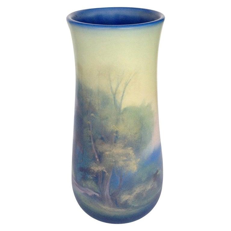 Rookwood Pottery Vellum Glaze Vase, circa 1925 For Sale