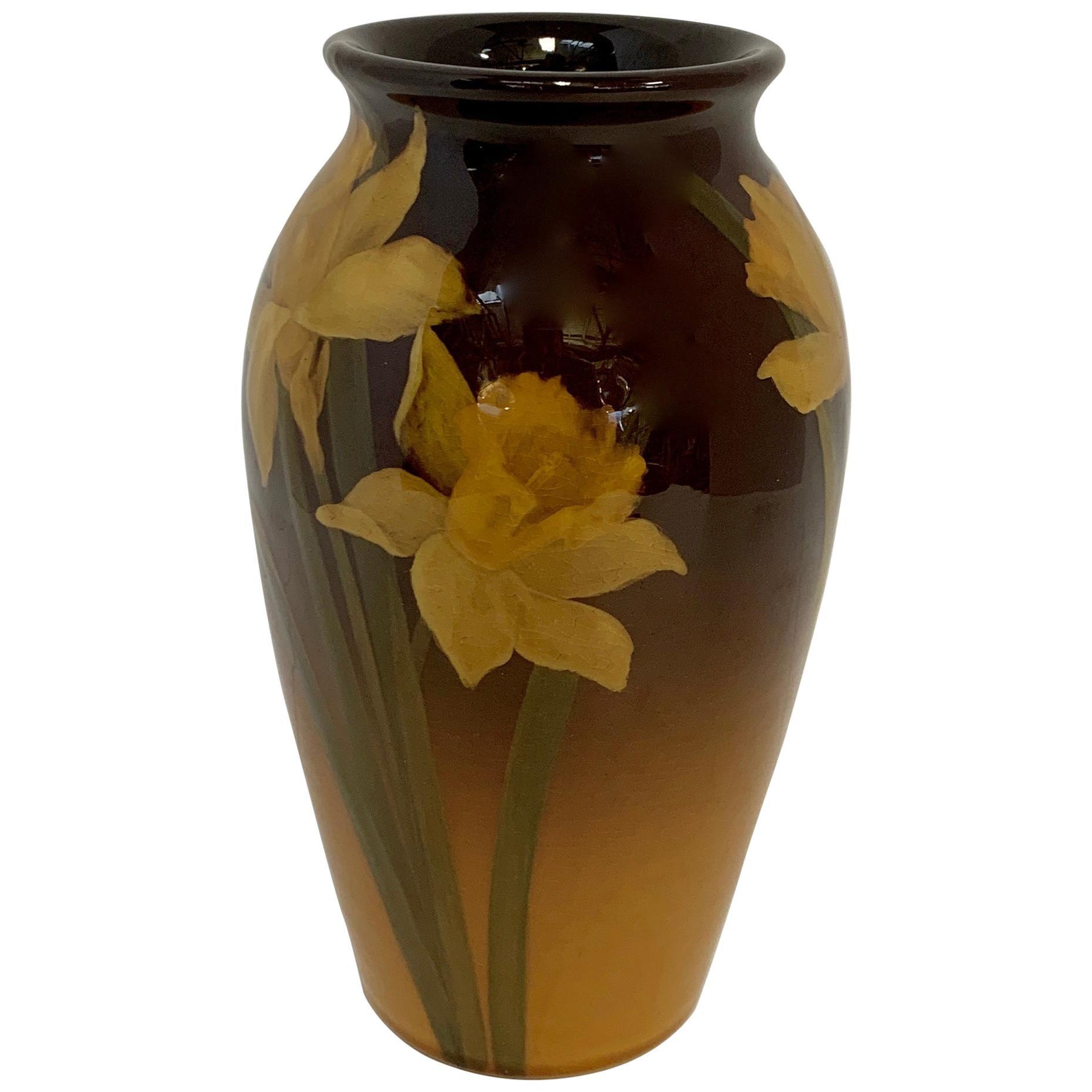 Rookwood Vase by Clara Lindeman