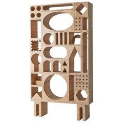 Room Collection Shelf, Pine Wood Storage Blocks by Erik Olovsson & Kyuhyung Cho