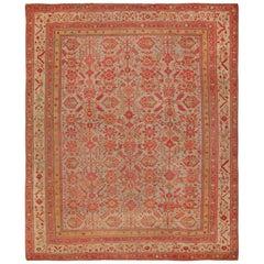 Room Size Antique Decorative Turkish Oushak Rug