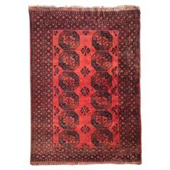 Room Size Antique Ersari Afghan Rug