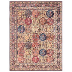 Room Size Antique Persian Tabriz Rug