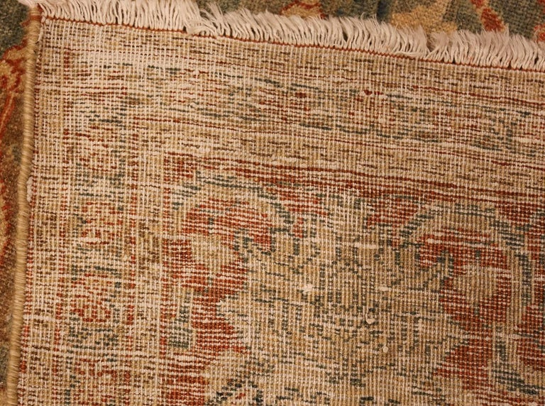 20th Century Room Size Antique Tabriz Persian Rug. Size: 7 ft 6 in x 10 ft 10 in  For Sale