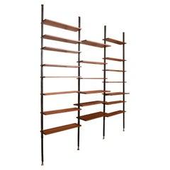 Roomdivider, Freestanding Book-Shelve by Jos De Mey for Van den Berghe-Pauvers