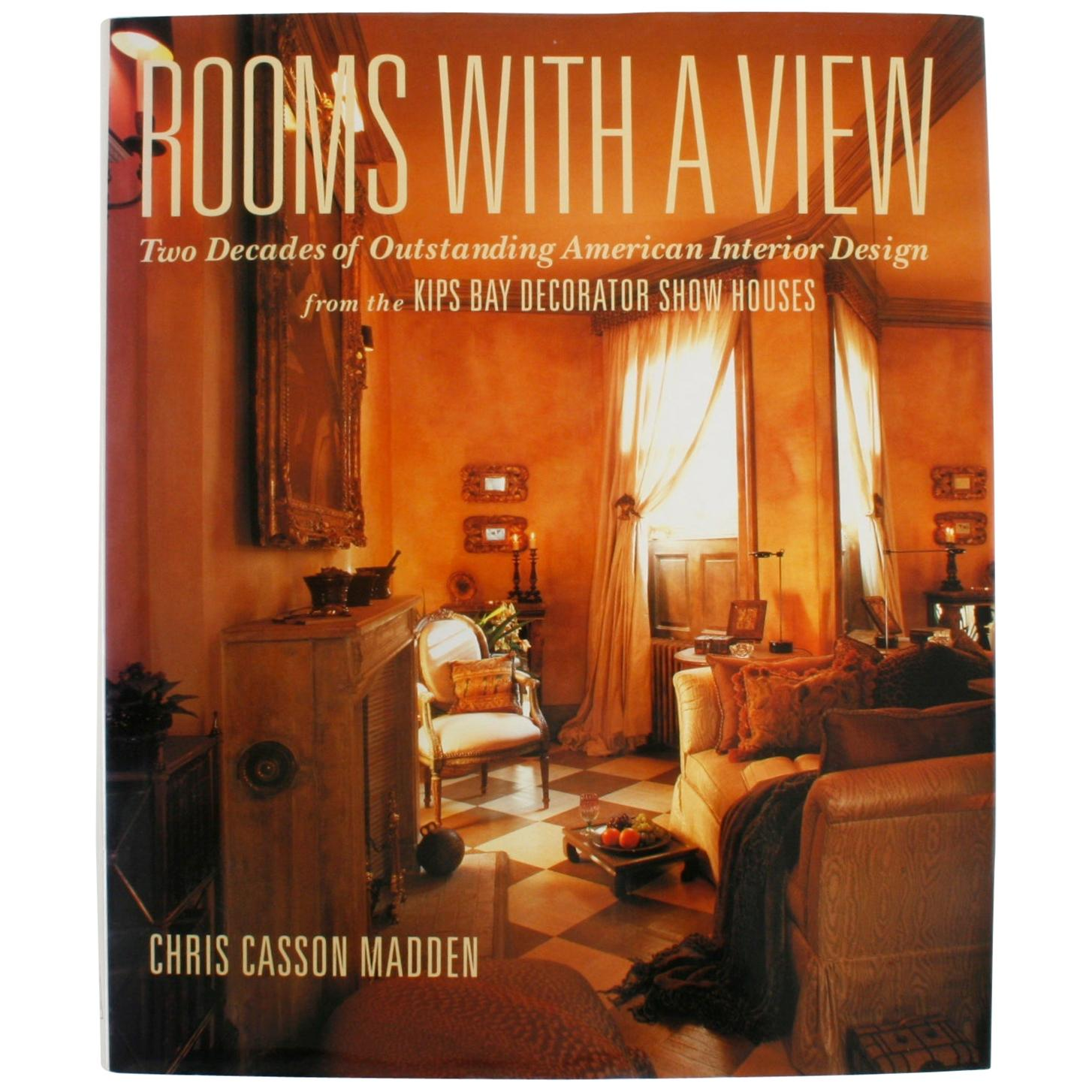 """""""Rooms with a View"""" Book by Chris Casson Madden, First Edition"""