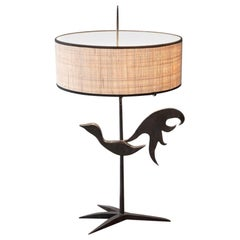"""Rooster"" Lamp by Jean Touret"