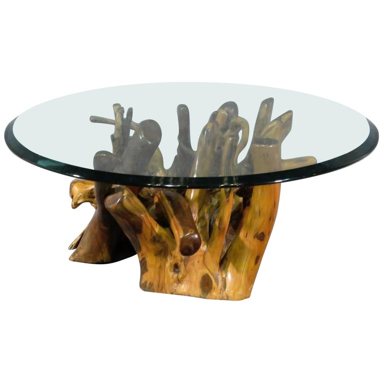 Root Base Coffee Table For Sale