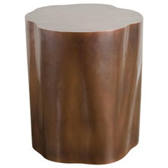 Root Shape Side Table in Copper by Robert Kuo, Limited Edition