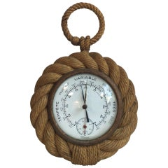 Rope Barometer Audoux Minet, circa 1960