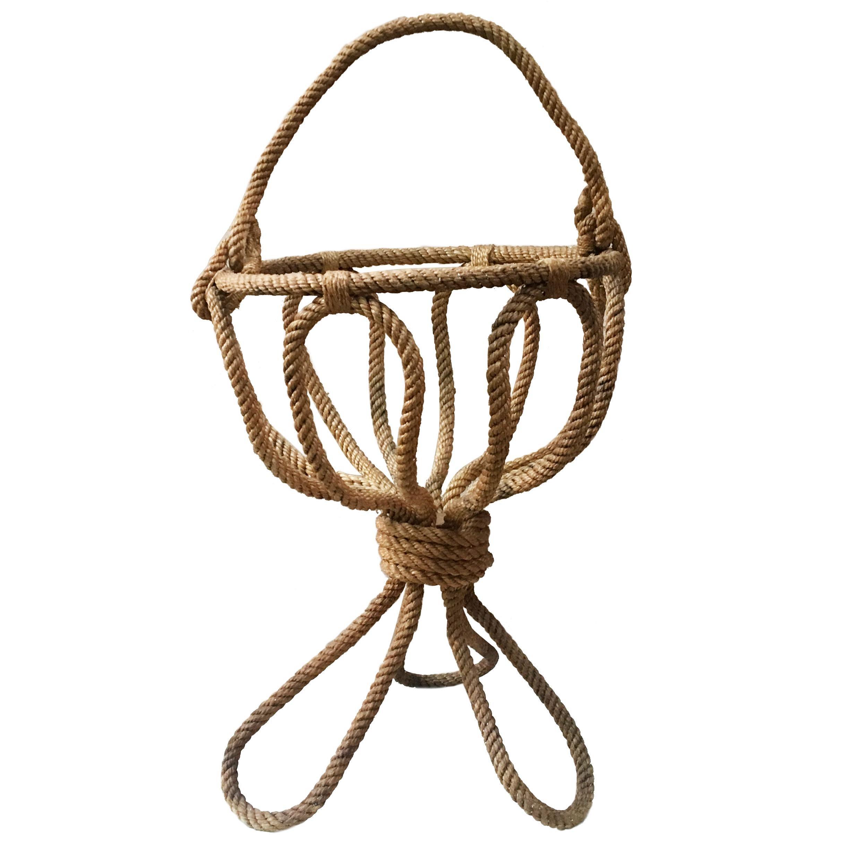 Rope Knitting Basket Audoux Minet