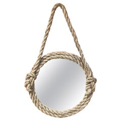 Rope Mirror Audoux Minet, circa 1970