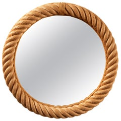 Rope Mirror by Audoux-Minet