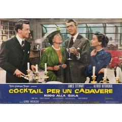 Rope R1963 Italian Fotobusta Film Poster