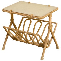 Rope Side Table by Audoux & Minet