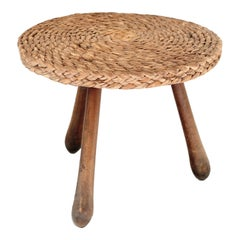 Rope Tripod Side Table