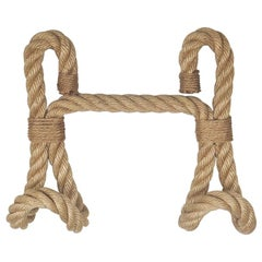 Rope Wall Hook by Audoux and Minet