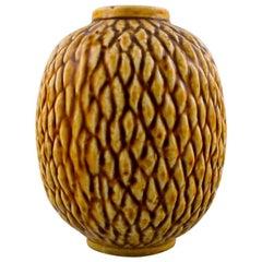 "Rörstrand Gunnar Nylund ""Chamotte"" Vase, 1960s"