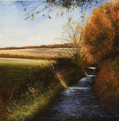 Autumn Glory - original landscape autumn painting contemporary modern art