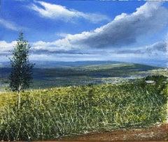 Burundi - original landscape sky painting contemporary modern art 21st Century