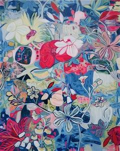 Fete IV original Floral painting