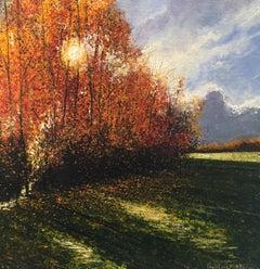 Into The Light - original landscape painting contemporary modern art