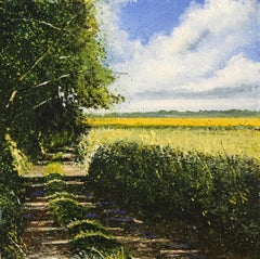 Path to the Future - original landscape painting contemporary modern art
