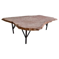 Rosa Flagstone and Iron Coffee Table