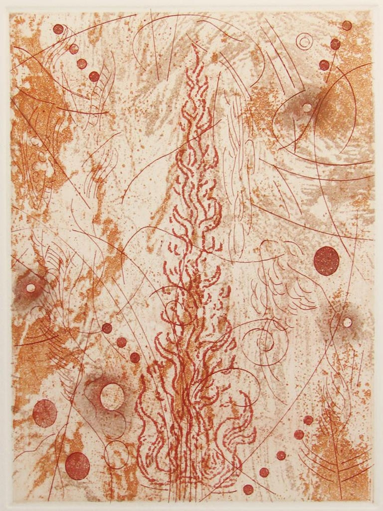 Rosalyn Richards Abstract Print - Fire