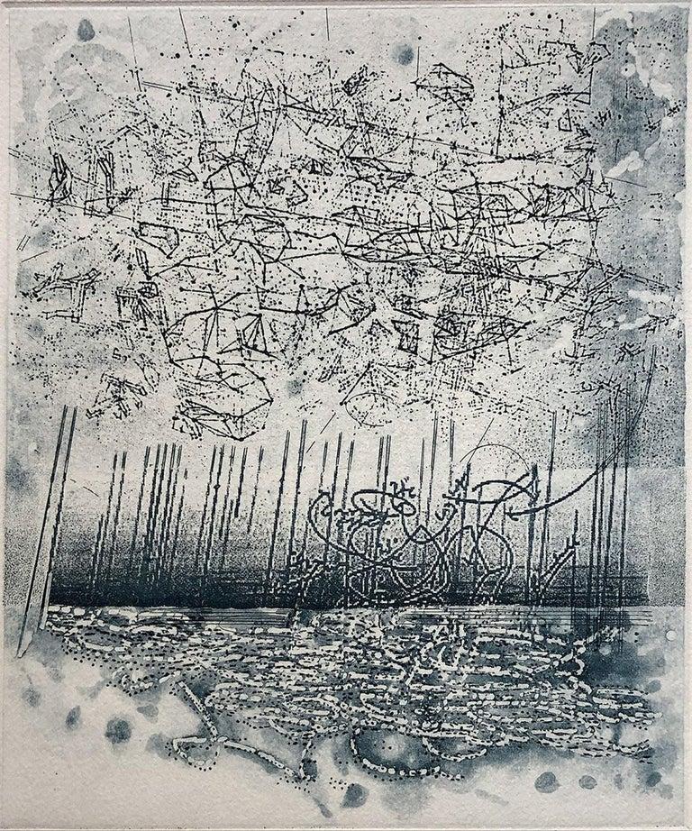 Rosalyn Richards Abstract Print - Storm
