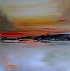 West Coast illuminations abstract landscape painting Contemporary Art 21st