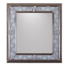 Rose and Boccioli Rectangular Mirror