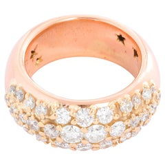 Rose and Yellow Gold Diamond Ring