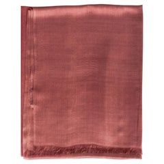Rose Cashmere Silk Scarf/Wrap/Shawl