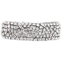 Rose Cut Diamond Bracelet, 22 Carat