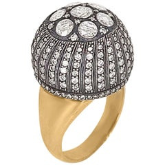 Rose-Cut Diamond Ring, Dome