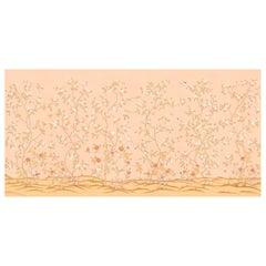 Rose Garden Custom Wallpaper 2 Panels