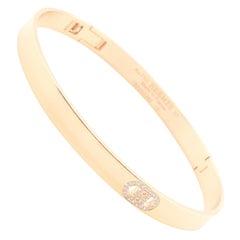 Rose Gold Hermes D'Ancre Bracelet