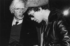 Andy Warhol and Lou Reed, Studio 54, 1977