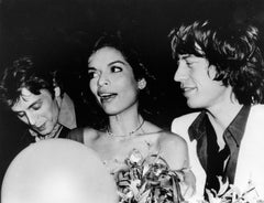Baryshnikov, Mick & Bianca Jagger, Studio 54, 1977
