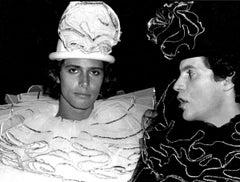 Carlos Souza & Luciano Villarini, Valentino's' Circus Birthday, Studio 54, 1978