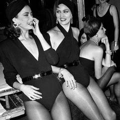 Donna Karan Models Backstage, 1985