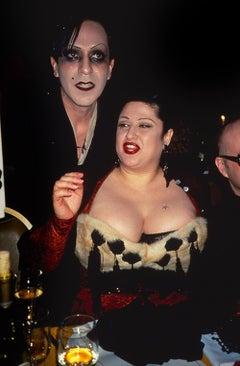 Joey Arias and Stella Ellis, Private Dinner, 1990s