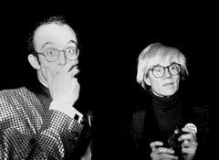 Keith Haring and Andy Warhol, Studio 54