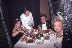 Little People at Halloween Dinner, Studio 54, 1978